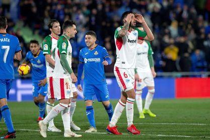 4-0. Mata y Jorge Molina impulsan al Getafe hacía Europa
