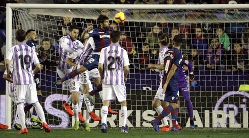 2-0. El Levante rompe su mala racha y el Valladolid se asoma al descenso
