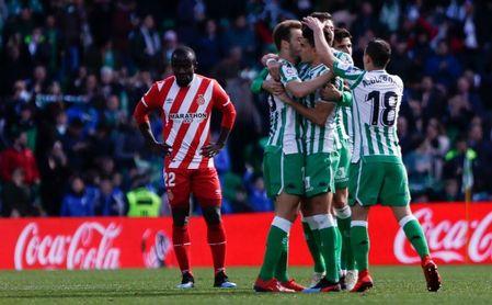 Real Betis 3-2 Girona: Canales pone la cordura a tiempo