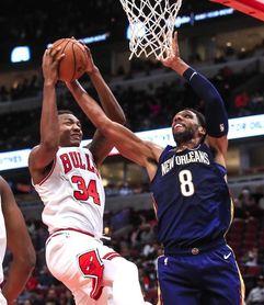 116-121. Okafor y Pelicans superan a Rockets; Harden mantiene racha 30 puntos