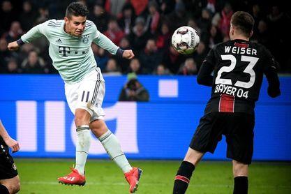 """James: """"De momento sólo pienso en el Bayern y lo doy todo por el club"""""""