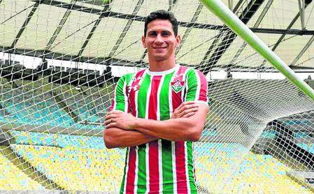 Paulo Henrique Ganso se ha convertido en la nueva imagen del Fluminense.