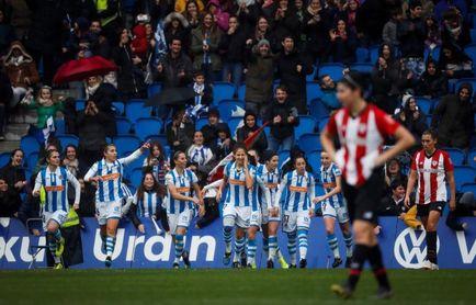 2-2. Real y Athletic empatan el derbi vasco en Anoeta ante 21.000 personas