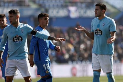 El Celta recurrirá ante Apelación la segunda tarjeta amarilla a Maxi Gómez