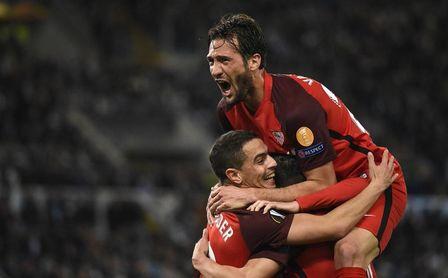 El Sevilla hizo el 0-1 tras una magnífica contra.