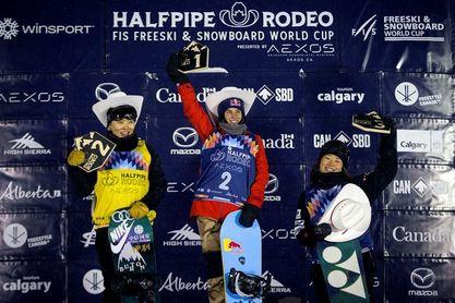 Queralt Castellet ganó en Calgary y es segunda en la general