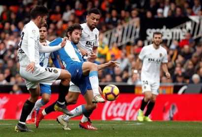 0-0. El Valencia sigue bajo la maldición del empate ante un luchador Espanyol