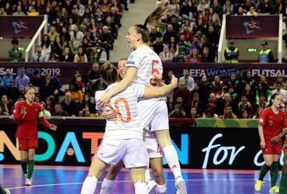 0-4. España hace historia con una goleada