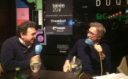 Ramón Somalo, durante la entrevista en Cope Sevilla.