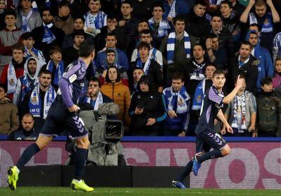 El Real Valladolid pierde a Toni durante tres meses, por lesión