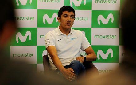 Ecuatoriano Carapaz afirma que Movistar puede confiar en él de cara al Giro