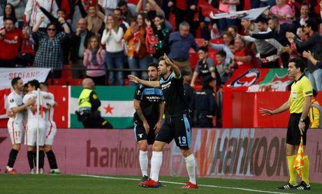 2-0. Ben Yedder y Sarabia meten al Sevilla en octavos