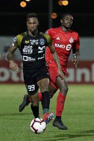 4-0. El CAI panameño golea al Toronto F.C. en su debut en torneo Concacaf