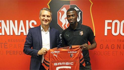Mbaye Niang no está mostrando en el Rennes lo que se esperaba de él.