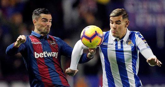 El Levante no ganó en sus últimas cinco visitas a la Real pero empató tres
