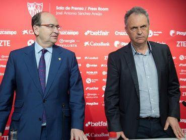 Caparrós sustituye a Pablo Machín en el banquillo sevillista