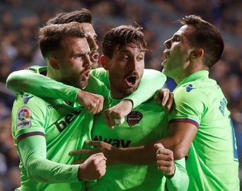 1-1. Borja Mayoral rescata un punto para el Levante