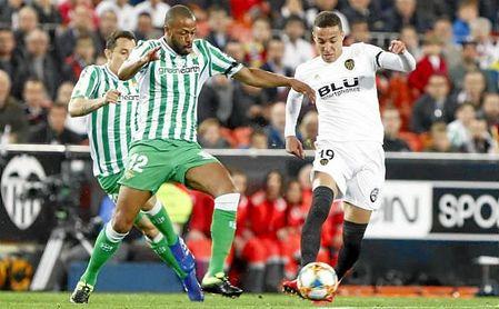 Sidnei y Rodrigo, en el partido de vuelta de semifinales de la Copa del Rey.