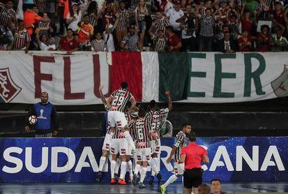 Fluminense viaja a Chile sin cinco titulares y urgido de victoria