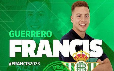 Francis, renovado por el Real Betis