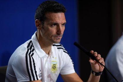 """Scaloni: """"Es una alegría que vuelva Messi, falta que el equipo lo acompañe"""""""