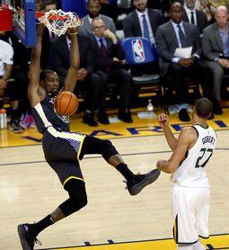 112-89. Durant supera emociones muerte de un amigo y lidera triunfo de Warriors