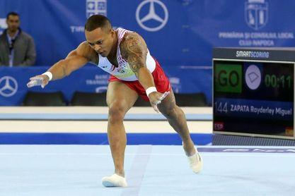 Ray Zapata, plata en suelo en la Copa del Mundo de Doha
