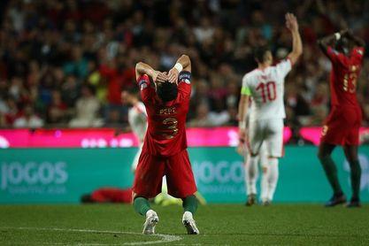 1-1. Portugal, sin puntería