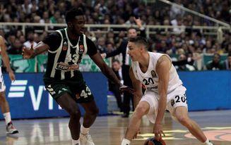 73-74. El Real Madrid renace en Atenas con un triple imposible de Rudy