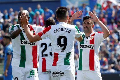 0-2. Michael Santos emerge en Getafe para acercar al Leganés a la salvación