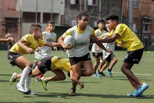 Brasil abraza el rugby como terapia