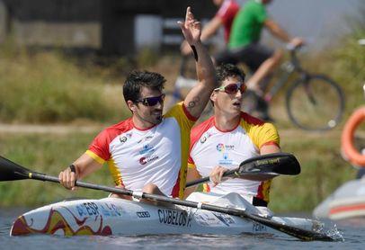 Cubelos y Peña se aseguran plaza en el Mundial sub'23 de piragüismo
