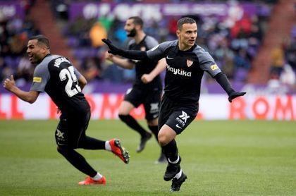 0-2. El Sevilla sigue su camino hacia la 'Champions'