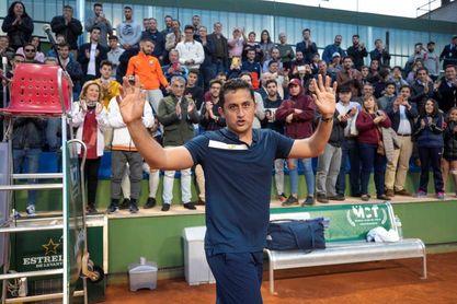 Almagro dice adiós al tenis al perder en Murcia su último partido individual