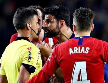 Ocho partidos a Diego Costa por su expulsión en el Camp Nou