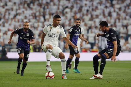 El Real Madrid prepara su partido contra el Leganés con Mariano como novedad