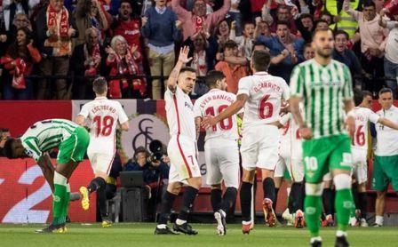 Resultado de imagen de Sevilla 3-Betis 2