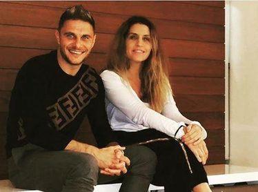 Joaquín y Susan, posando en una foto de Instagram.