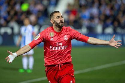 1-1: La inspiración de Benzema vale un punto en Leganés