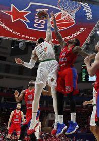 68-78. El Baskonia iguala la serie ante el CSKA con un imperial Poirier