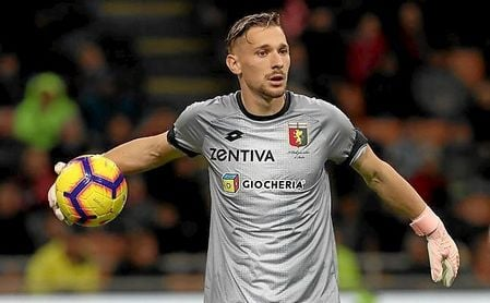 Radu está cedido por el Inter en el Genoa.