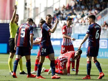 Simeone recuerda que la colleja del árbitro a Morata le recuerda a su sanción de 4 partidos