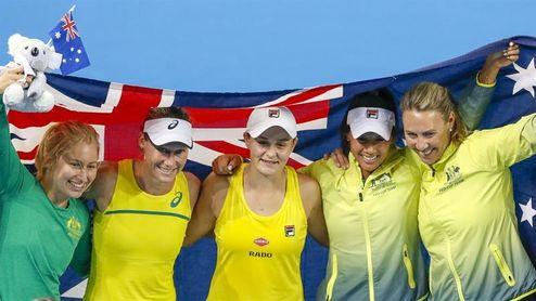 3-2. Australia gana a Bielorrusia y jugará la final en casa en noviembre