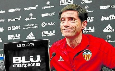 """Marcelino quiere crearle peligro al Betis como sabe: """"con contragolpes rápidos""""."""