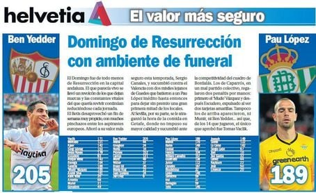 Domingo de Resurrección con ambiente de funeral