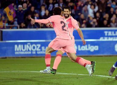 0-2. Aleñá y Suárez empujan al Barcelona hacia el alirón