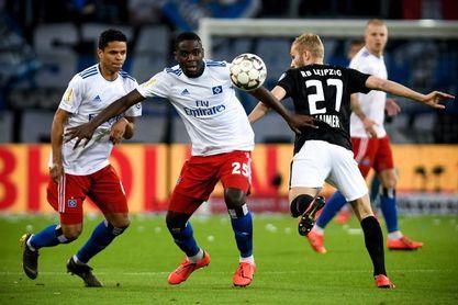 El Leipzig supera al Hamburgo y se clasifica para la final de Copa