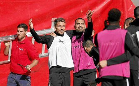La prioridad de Mercado es seguir en el Sevilla FC.