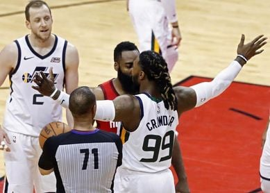 100-93. Harden y Rockets eliminan a Jazz, a pesar de un gran Rubio como líder