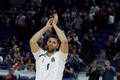 El Madrid hace oficial que Felipe Reyes continuará una temporada más